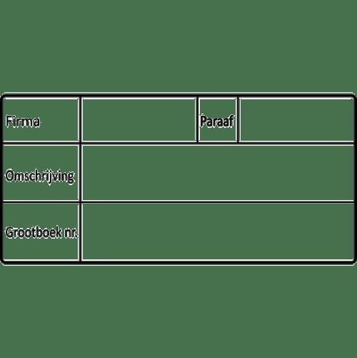 project stempel, nr.2146, afmeting: 70mm x 35mm
