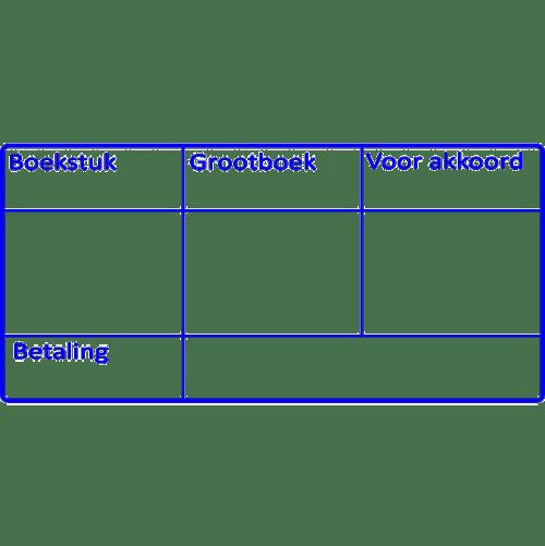 controle stempel, nr.2167, afmeting: 70mm x 35mm