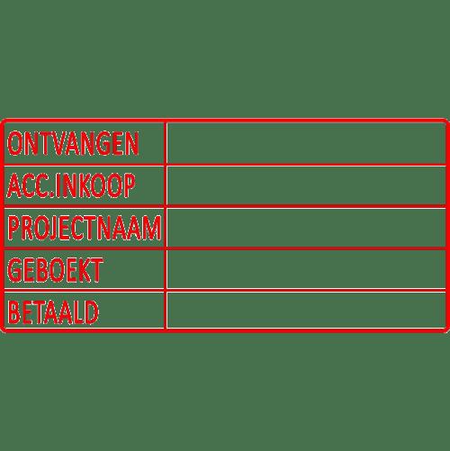 project stempel, nr.2179, afmeting: 70mm x 35mm