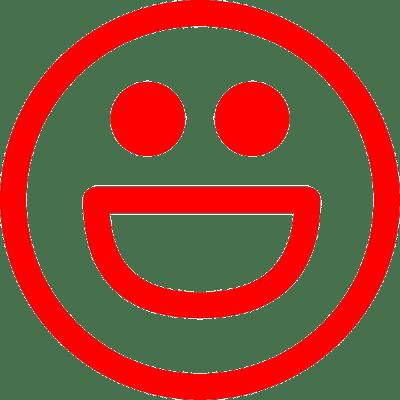 smiley big smile, nr.2482, afmeting: 22mm x 22mm