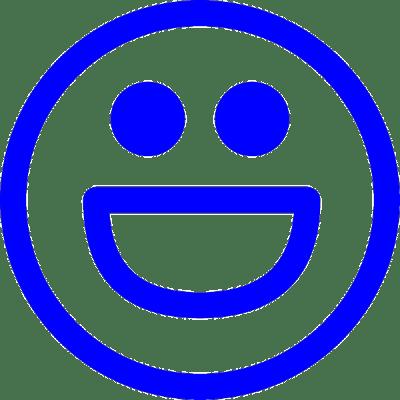 smiley big smile, nr.2689, afmeting: 22mm x 22mm