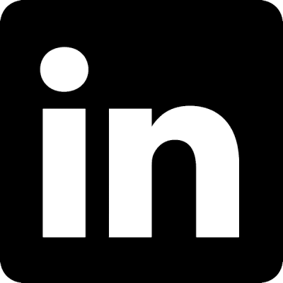 LinkedIn logo, nr.2700, afmeting: 22mm x 22mm