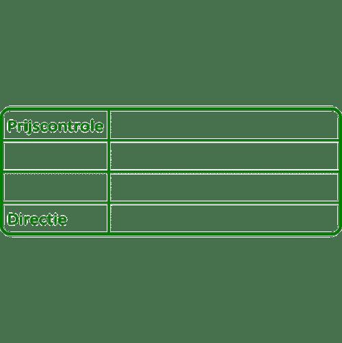 controle stempel, nr.3044, afmeting: 70mm x 30mm