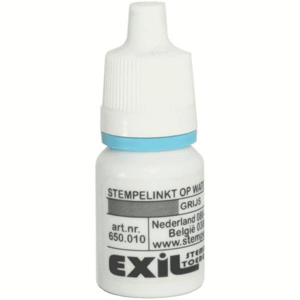 standaard inkt, grijs/8ml