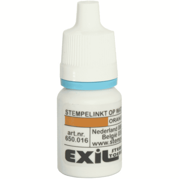 standaard inkt, oranje/8ml
