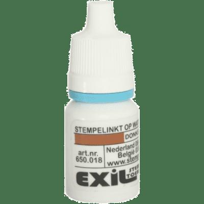 standaard inkt, donkerrood/8ml