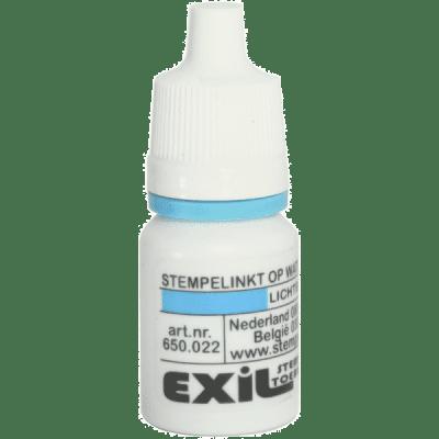 standaard inkt, lichtblauw/8ml