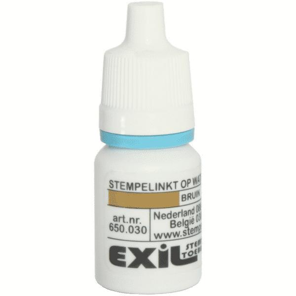 standaard inkt, bruin/8ml