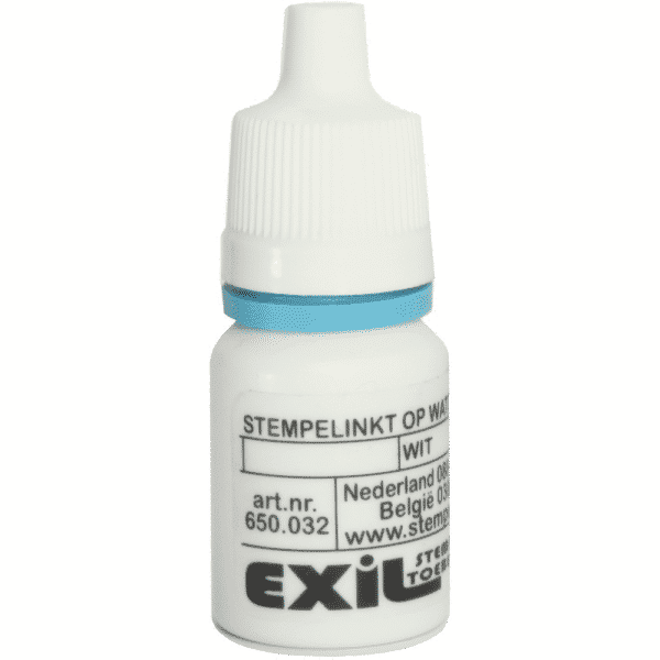 standaard inkt, wit/8ml