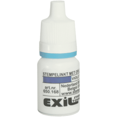 sneldrogende inkt, violet/8ml