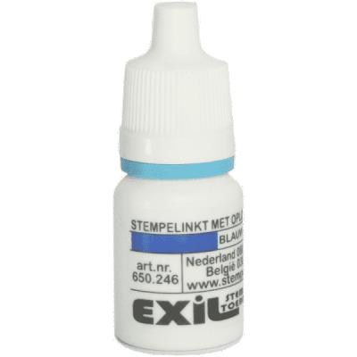 textiel inkt, blauw/8ml