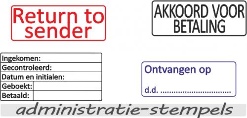 administratie-stempels
